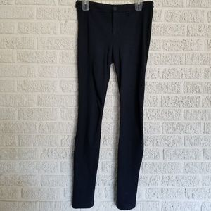 Vince Navy Blue Modele Ponte Riding Pants